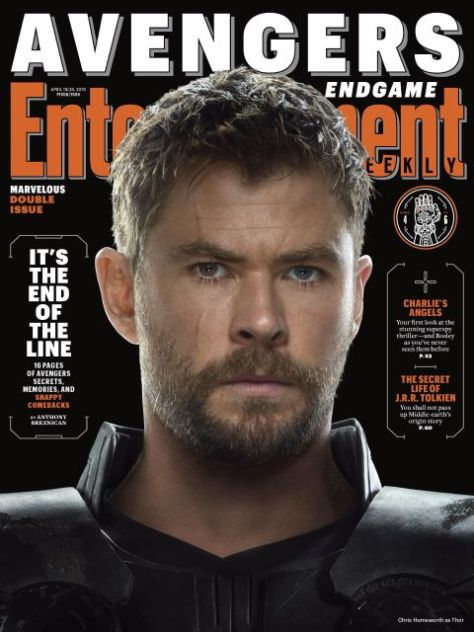 magazine covers, entertainment weekly, avengers endgame, avengers endgame covers, variant covers