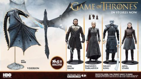 mcfarlane toys, game of thrones, game of thrones action figures