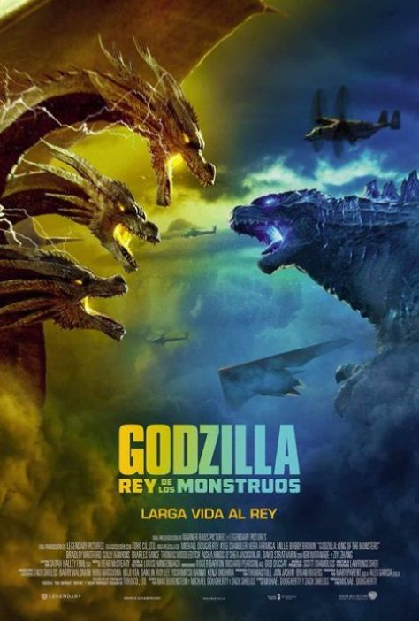 movie posters, promotional posters, warner brothers pictures, godzilla, godzilla king of the monsters