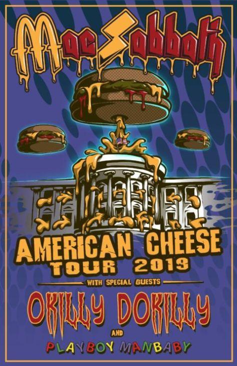 tour posters, mac sabbath, mac sabbath tour posters