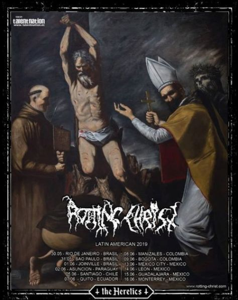 tour posters, rotting christ, rotting christ tour posters
