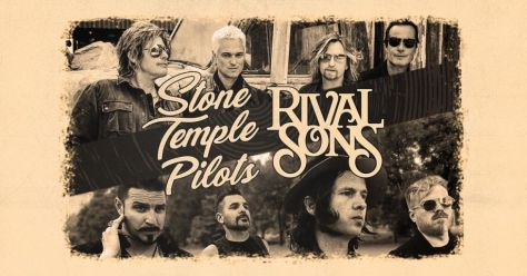tour posters, rival sons, stone temple pilots