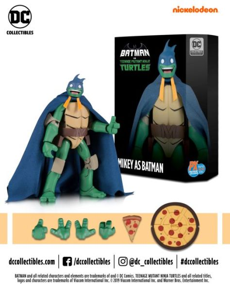 dc collectibles, batman, teenage mutant ninja turtles, action figures