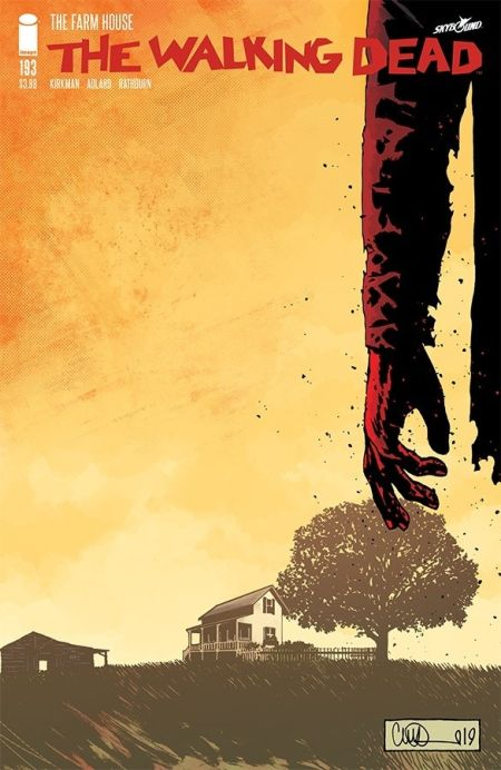 comic book covers, image comics, the walking dead