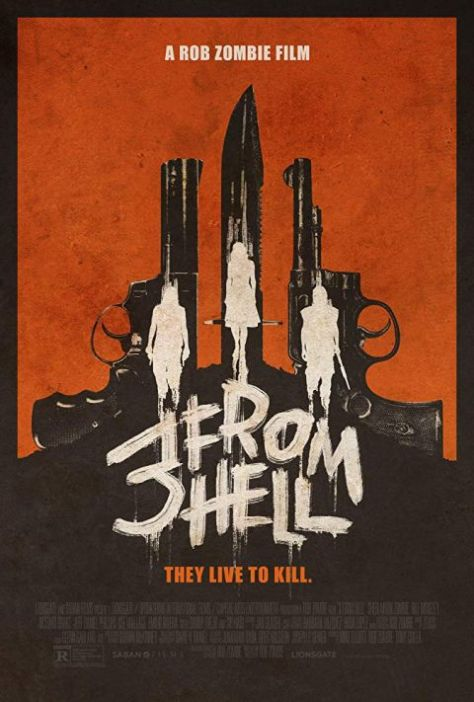 movie posters, promotional posters, saban films, 3 from hell