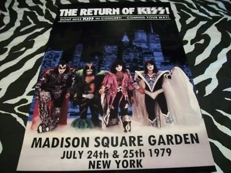 tour posters, kiss, kiss tour posters
