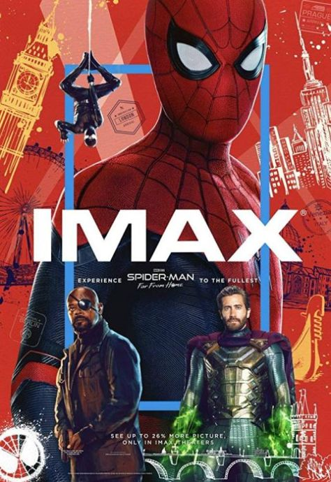 movie posters, promotional posters, sony pictures, spider-man far from home