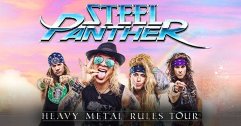 tour posters, steel panther, steel panther tour posters