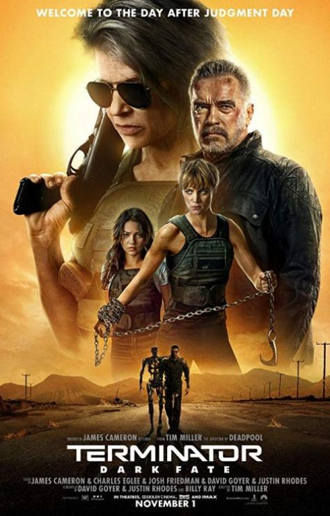 movie posters, promotional posters, paramount pictures, terminator dark fate