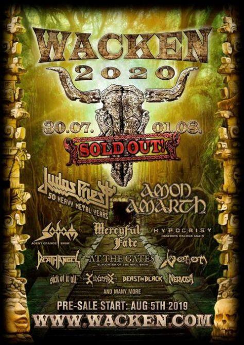 festival posters, wacken open air festival