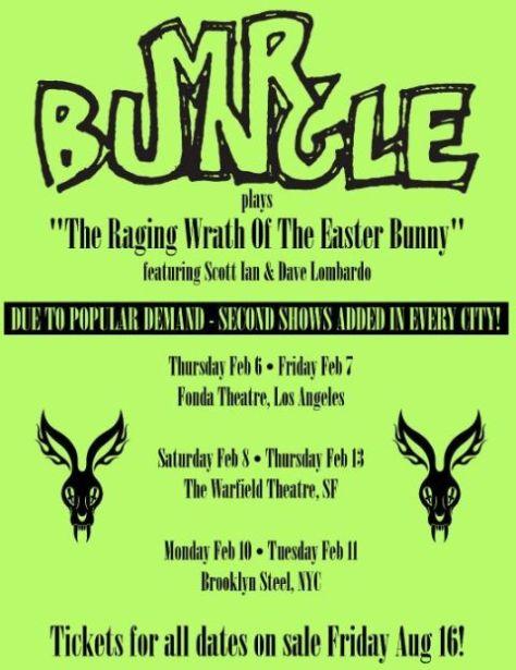 tour posters, mr bungle, mr bungle tour posters