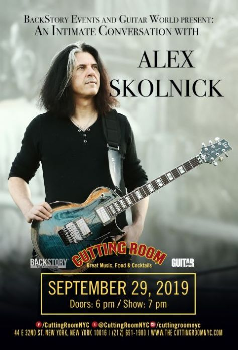 show posters, the cutting room, alex skolnick
