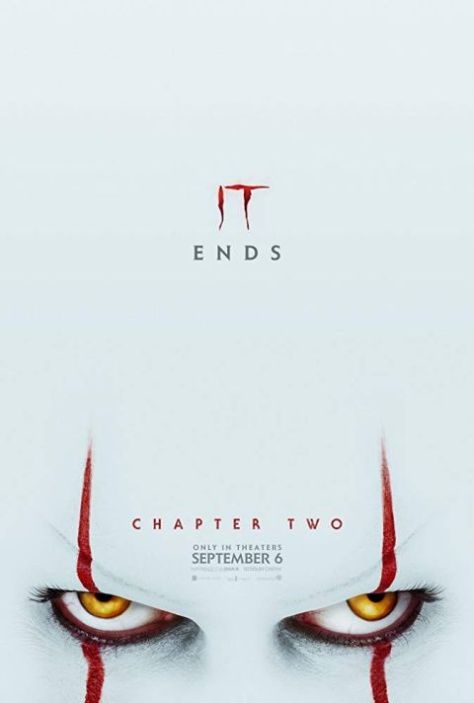 movie posters, promotional posters, warner brothers pictures, it chapter two