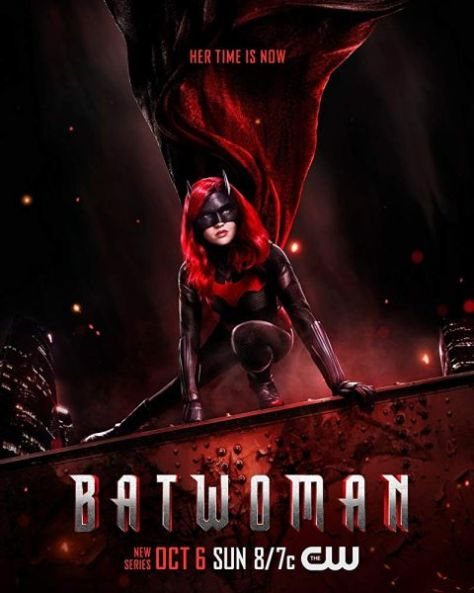television posters, promotional posters, the cw network, warner brothers television, batwoman