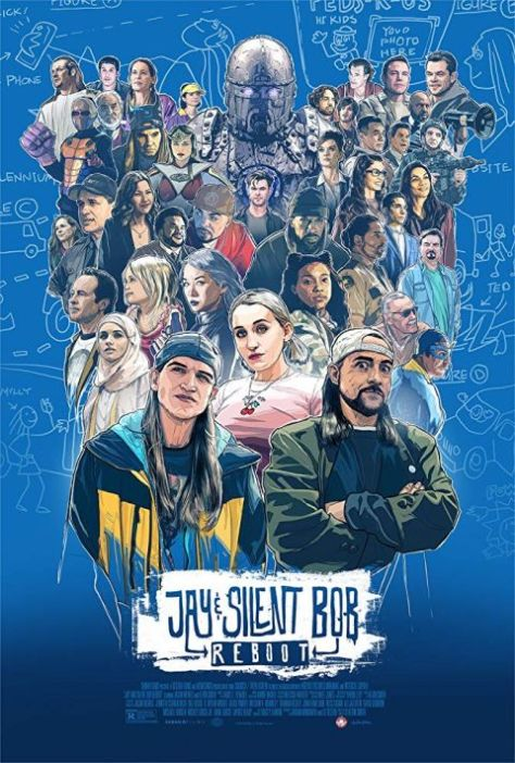 movie posters, promotional posters, saban films, jay and silent bob reboot