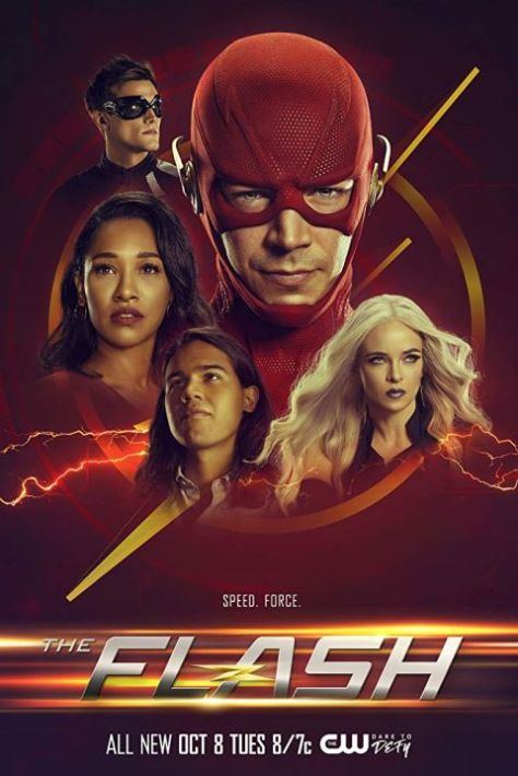 television posters, promotional posters, warner brothers television, the flash