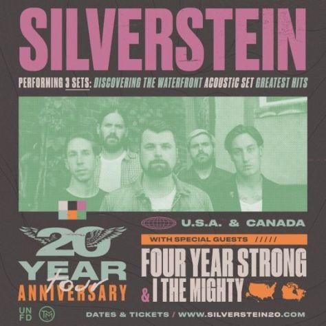 tour posters, silverstein, silverstein tour posters