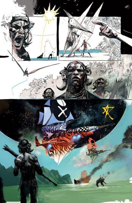 comic book interiors, image comics