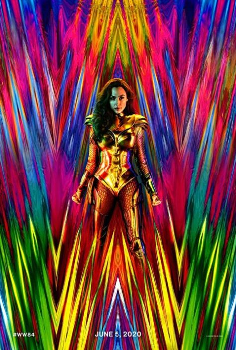 movie posters, promotional posters, warner brothers pictures, wonder woman 1984