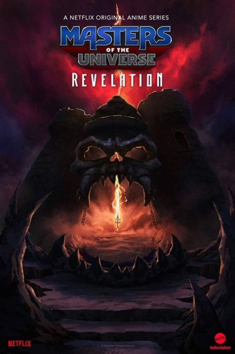 television posters, promotional posters, masters of the universe: revelation,