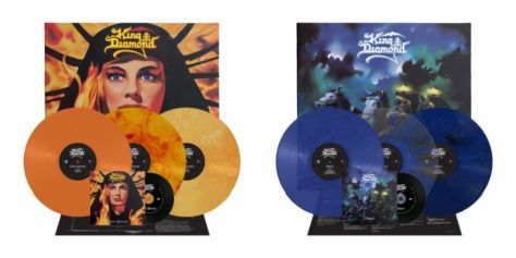 album covers, king diamond, king diamond album covers, metal blade records