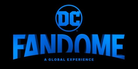 dc fandome logo, dc entertainment, dc comics