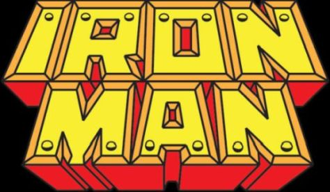 iron man comics logo, marvel comics logos
