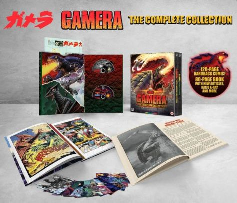 arrow video, gamera, gamera the complete collection