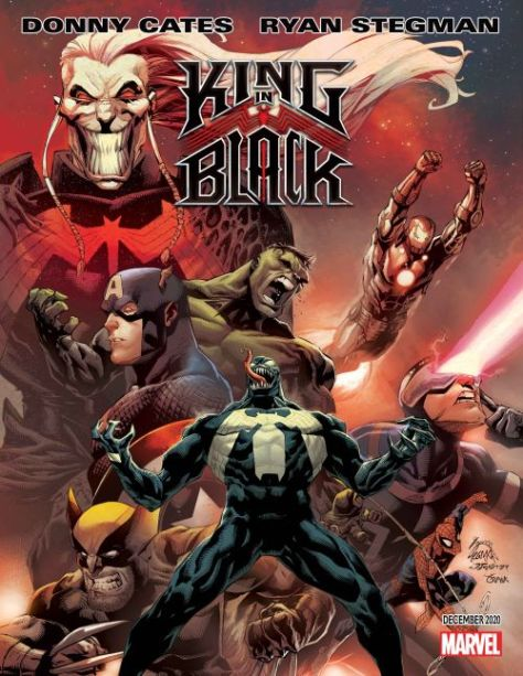 marvel comics, marvel entertainment, king in black