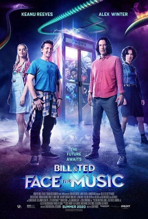 movie posters, promotional posters, orion pictures, united artists releasing, bill and ted face the music, bill and ted face the music posters
