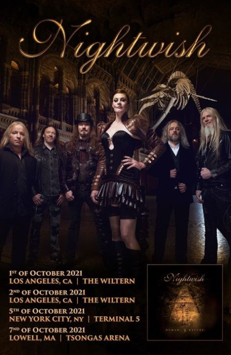 tour posters, nightwish, nightwish tour posters