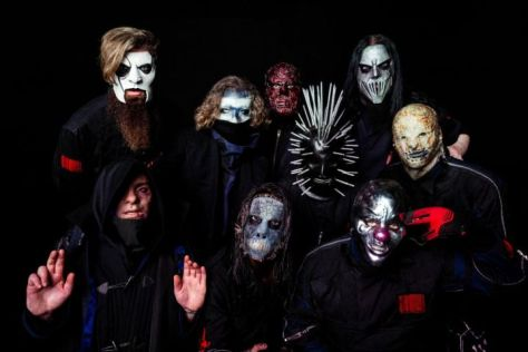 slipknot, slipknot band photo, roadrunner records