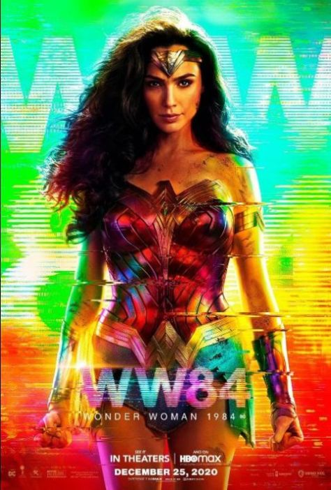 movie posters, promotional posters, warner brothers pictures, wonder woman 1984, wonder woman 1984 posters