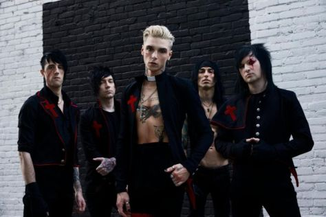band photos, black veil brides, black veil brides band photos, sumerian records, jonathan weiner photography