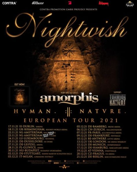 tour posters, promotional posters, nightwish, nightwish tour posters, nuclear blast records