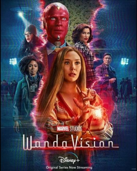 television posters, promotional posters, marvel studios, wandavision, wandavision posters