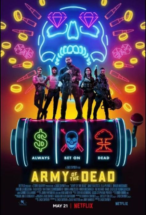 promotional posters, movie posters netflix originals, army of the dead