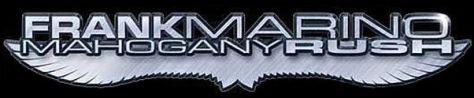 frank marino mahogany rush logo