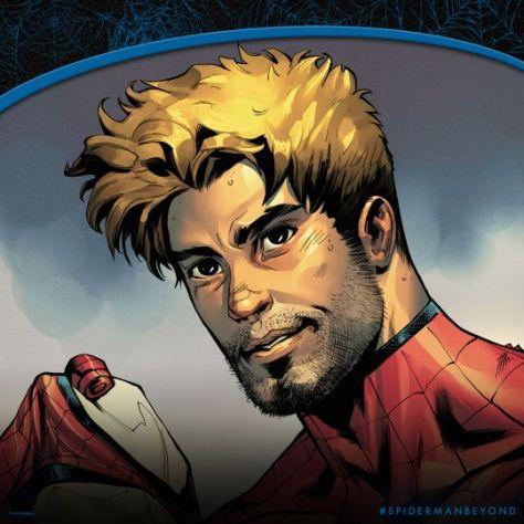comic book teasers, marvel comics, marvel entertainment, spider-man beyond
