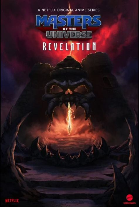 television posters, promotional posters, netflix, netfilx original, masters of the universe: revelation, masters of the universe: revelation posters