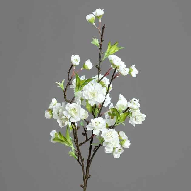Branche Fleurs De Cerisier Japonais Rose 46cm Fleurs Plantes Artificielles Pier Import