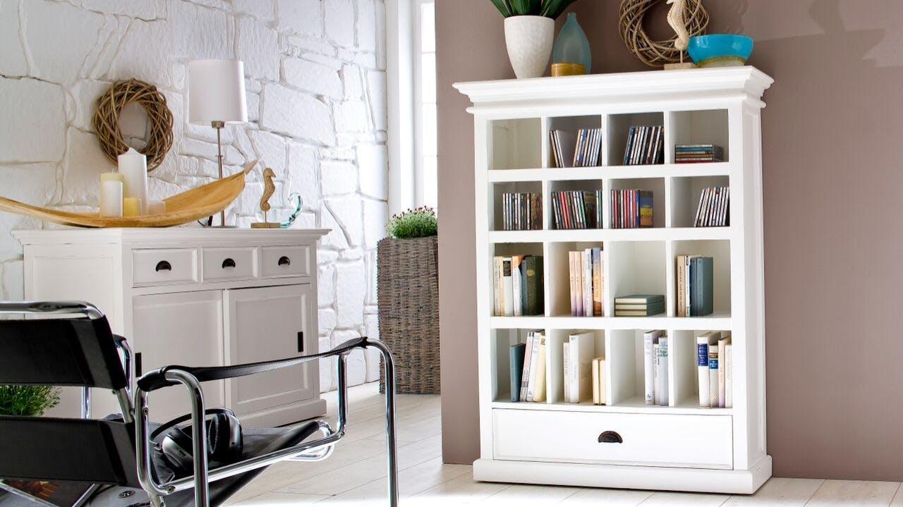 bibliotheques bois metal meubles