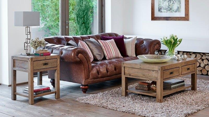 meubles en bois recycle table a