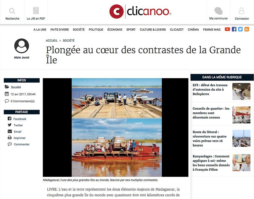 Article Clicanoo Pierre-Yves Babelon