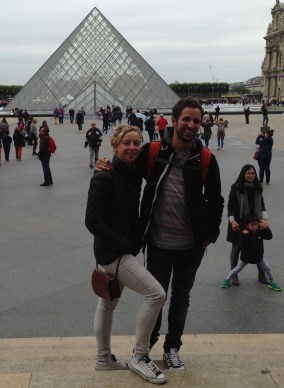 At the Louvre