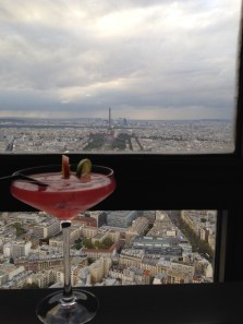 View from Ciel at Montparnasse