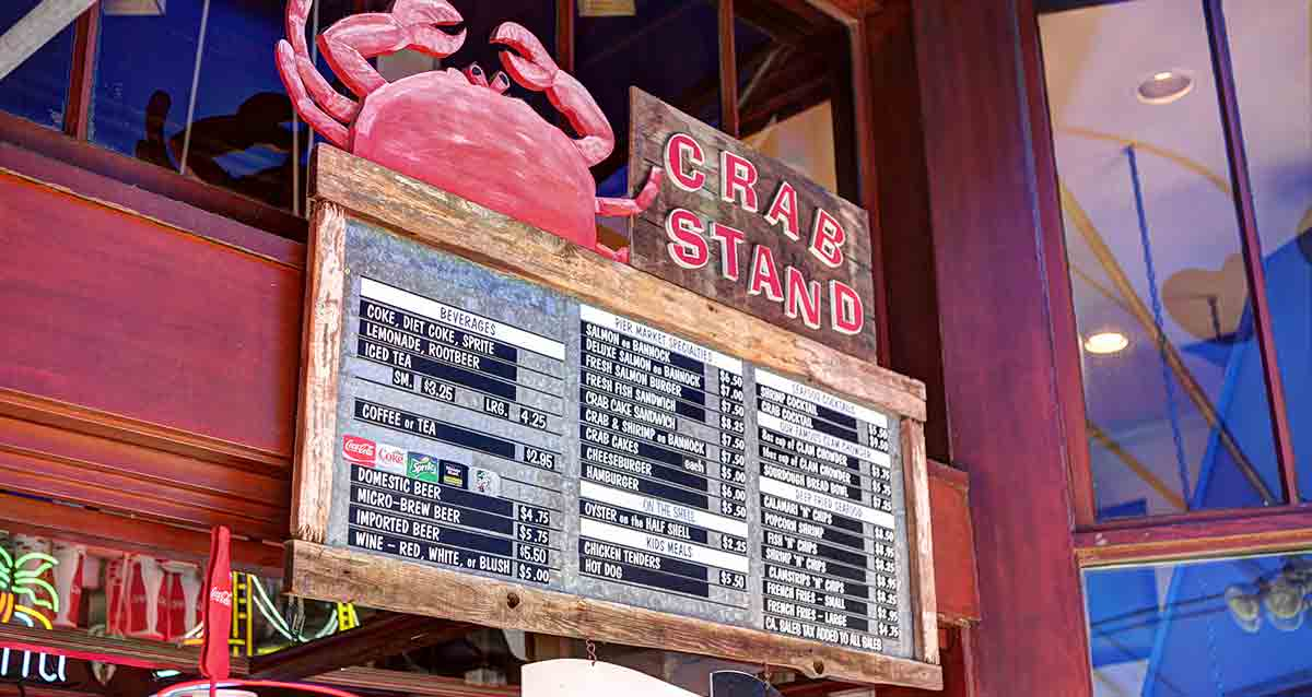 San Restaurants Wharf Francisco