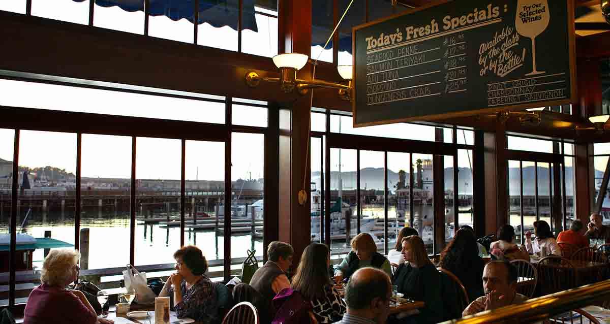San Francisco Pier Restaurants Seafood