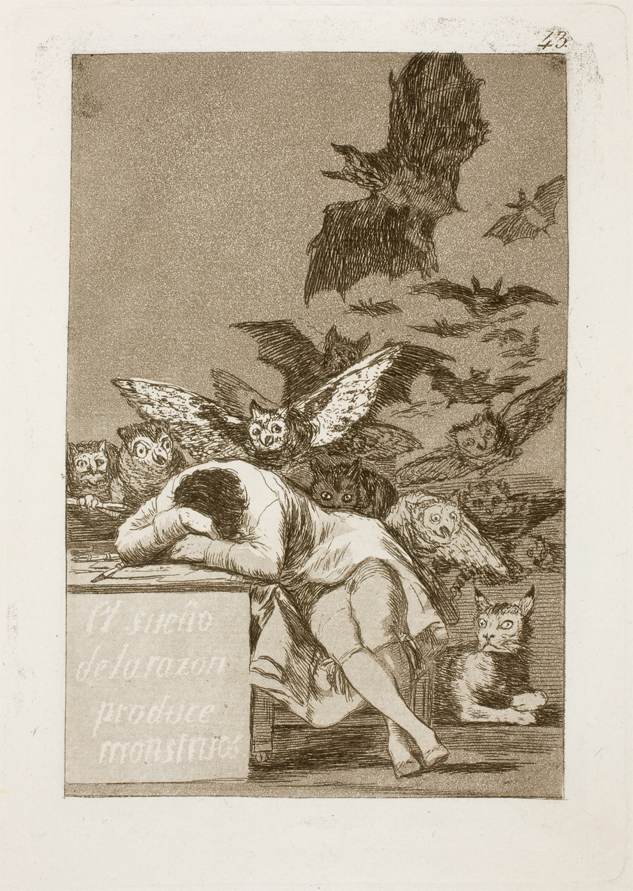 El sueño de la razón produce monstruos - The sleep of reason produces monsters. Goya in Prado Museum