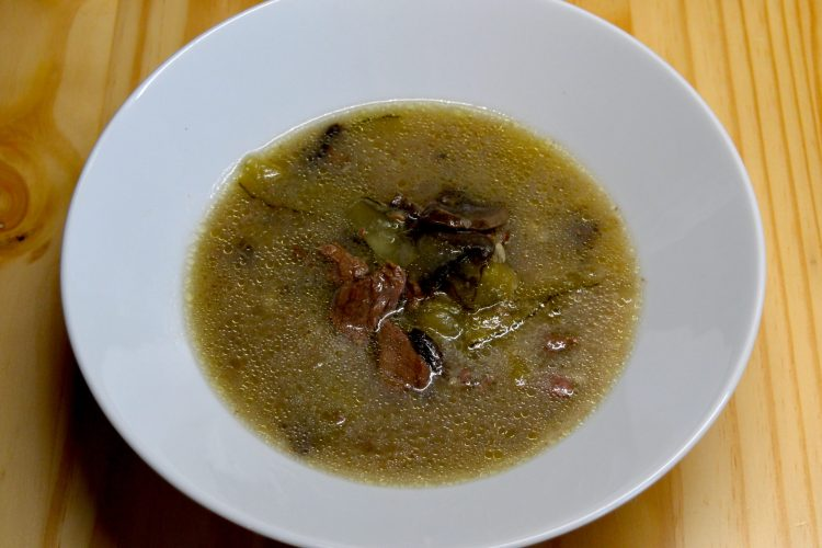 boeuf, boeuf Stroganov, Strogonoff, Strogonow, ogorki kiszone, pieczarki